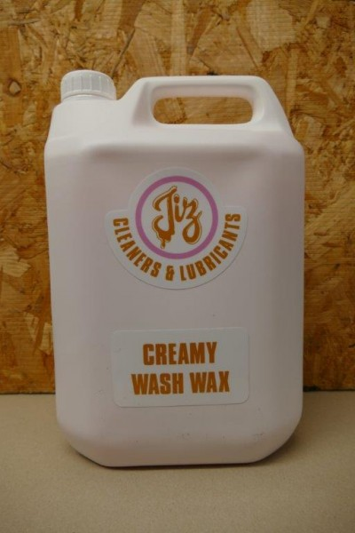 Creamy Wash Wax 5ltr